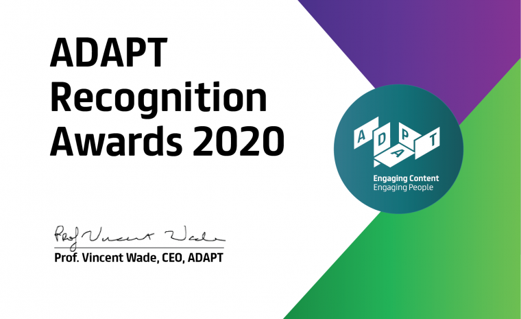 ADAPT Recognition Awards 2020