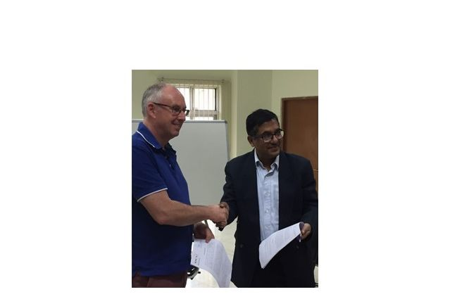 ADAPT Deputy Director signs letter of Collaboration between DCU and IIT, Patna