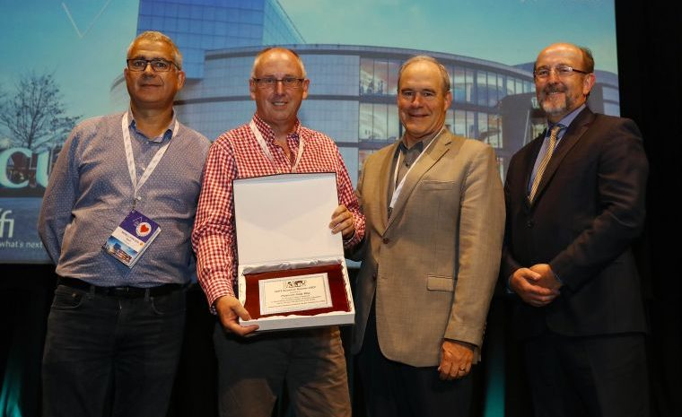 Professor Andy Way Wins Prestigious International Award for His Outstanding Contribution to MT