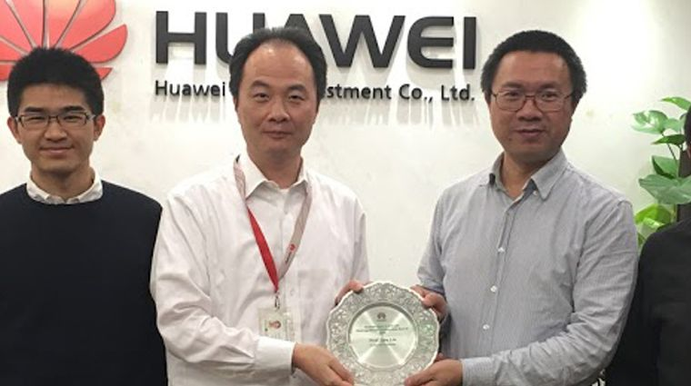 Huawei Presents ADAPT PI with Distinguished Collaborator Award