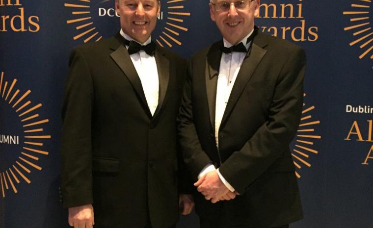 ADAPT Associate Director Wins DCU Alumni Award