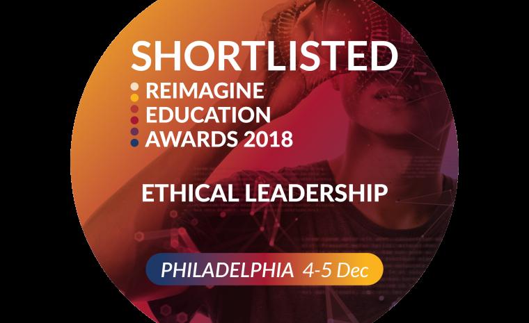 ADAPT Innovation shortlisted for QS Reimagine Education Award