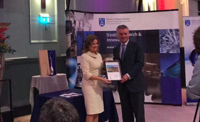 Professor Sabina Brennan Receives Trinity Innovation Award for Societal Impact