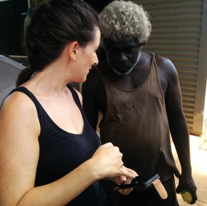 ADAPT Research Travels to Australia to Document Minority Aboriginal Language