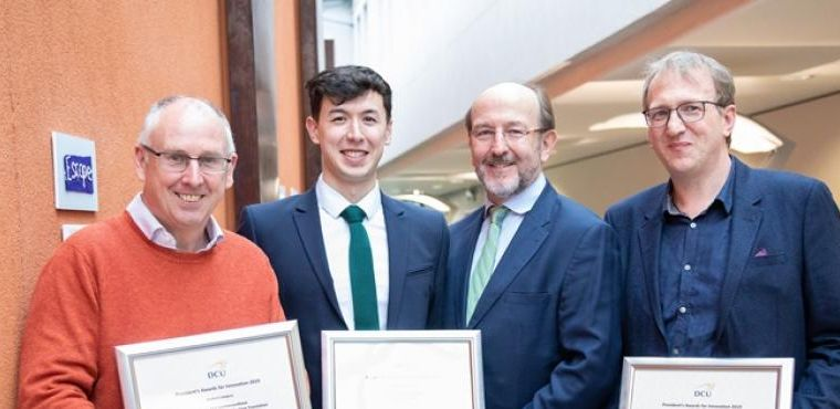 ADAPT Researcher Wins DCU Award for Innovation